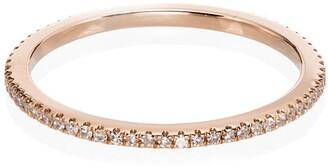 Rosa de la Cruz 18kt Yellow Gold Diamond Stacking Ring