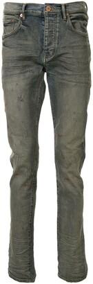 Purple Brand Low-Rise Slim Jeans