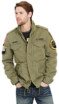Denim & Supply Ralph Lauren Field Jacket, Marine Corp Olive