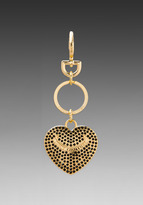 Juicy Couture Pave Heart Key Fob