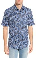Rodd & Gunn Men's Sunset Road Original Fit Print Sport Shirt