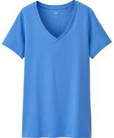 Uniqlo Women's Supima(R) Cotton V-Neck T-Shirt