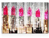 Oliver Gal Lipstick Collection Wall Art, 16 x 24