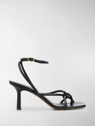 Neous Alkes square toe sandals