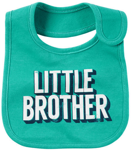 Carter's Little Brother Teething Bib
