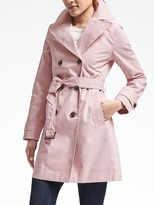 Banana Republic Double-Breasted Belted Trench