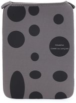 Comme des Garcons polka dot zip pouch - men - Neoprene/Nylon - One Size