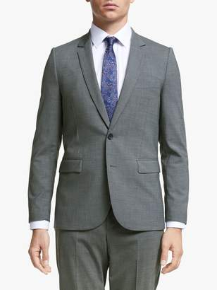 Paul Smith Wool Stretch Tailored Fit Suit Jacket, Grey