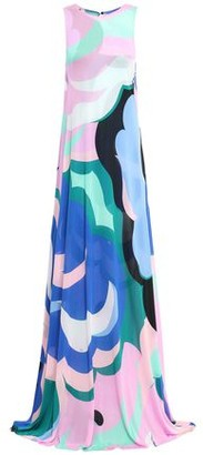 Emilio Pucci Printed Jersey Gown