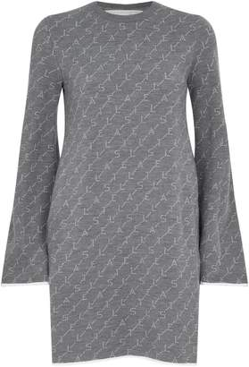 Stella McCartney Monogram Sweatshirt Dress