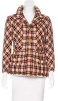 Junya Watanabe Wool Patterned Coat