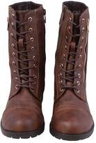 Blancho Top Moda Women's Pack 72 Lace Up Combat Boot Us7.5
