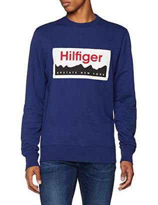 Tommy Hilfiger Tommy Men's Logo Sweatshirt,Medium