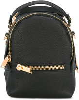 Sophie Hulme mini backpack - women - Calf Leather - One Size