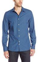 J. Lindeberg Men's Dani Floral Printed Button-Down Shirt