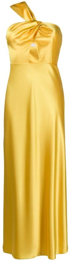 Racil Cutout One-Shoulder Dress