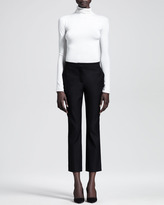 The Row Cropped Straight-Leg Pants