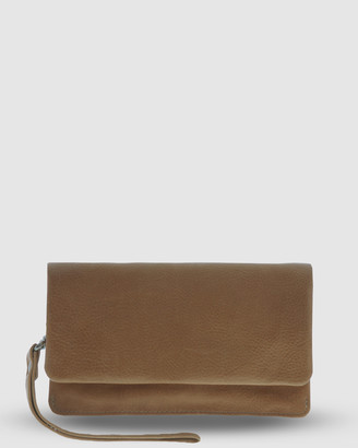 Cobb & Co - Women's Brown Wallets - Albury Soft Leather Fold Over Wallet - Size One Size at The Iconic