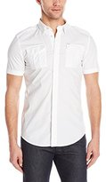 Diesel Men's S-Haul-Short Sleeve Button Down Shirt