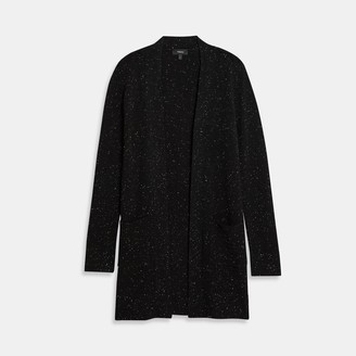 Theory Belted Cardigan in Donegal Cashmere