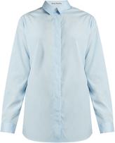 Acne Studios Bela cotton-poplin shirt