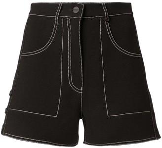 Dion Lee rivet micro shorts