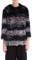 Yves Salomon Short Fox Fur Coat