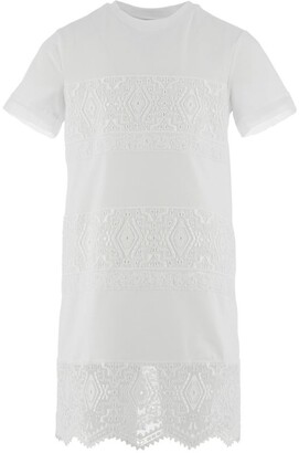 Ermanno Scervino Lace-Detail T-Shirt Dress (4-14 Years)