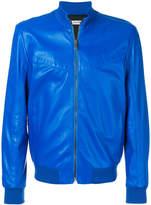 Dirk Bikkembergs panelled bomber jacket
