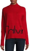 Calvin Klein Highneck Logo Sweater