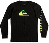 Quiksilver Boys' Long-Sleeve Graphic-Print T-Shirt