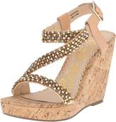 Naughty Monkey Women's Sugar Rush Wedge Sandal