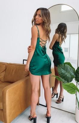 Beginning Boutique Riri Teal Party Dress