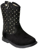 Just Buds Footwear Toddler Girls' Just Buds Western Star Comfort Western Boots - Black 10