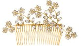 Jennifer Behr Crystal-Embellished Hair Comb w/ Tags