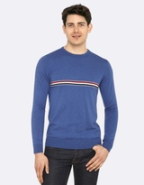 Oxford Finn Striped Front Knit