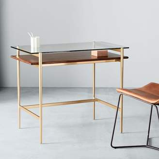 west elm Mid-Century Art Display Mini Desk