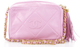 Chanel Light Pink LambskinVIntage CC Small Camera Bag