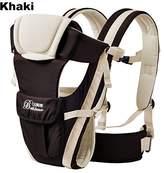 Vine Trading Co. Vine Adjustable 4 Positions Baby Carrier Infant Pouch Bag Newborn Wrap Khaki