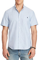 Polo Ralph Lauren Big & Tall Classic-Fit Solid Oxford Short-Sleeve Woven Shirt