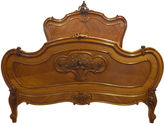 One Kings Lane Vintage 19th-C. French Louis XV-Style Bed