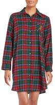 Lauren Ralph Lauren Plus Brushed Twill His Sleepshirt