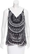 Trina Turk Printed Sleeveless Top