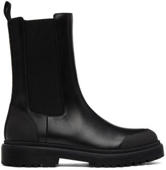Moncler Black Patty Chelsea Boots