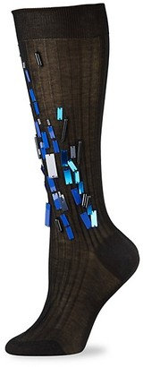 Prada Embellished Cotton Socks