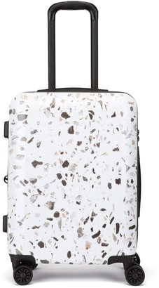 Calpak Luggage Terrazzo 22-Inch Hard Shell Spinner Carry-On Suitcase