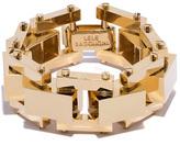 Lele Sadoughi Golden Bedrock Bracelet