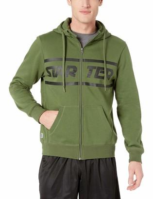 Starter Men's Zip-Up Logo Hoodie Amazon Exclusive