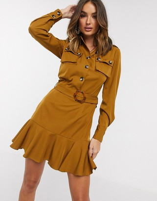 NEVER FULLY DRESSED Stevie utility mini dress