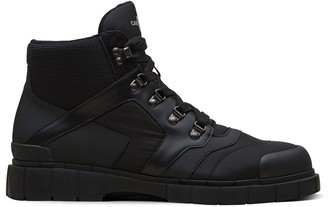 Car Shoe Panelled Ankle Boots